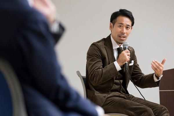 スカイマーク株式会社 取締役執行役員 西岡 成浩氏 株式会社フォワード 加藤明拓